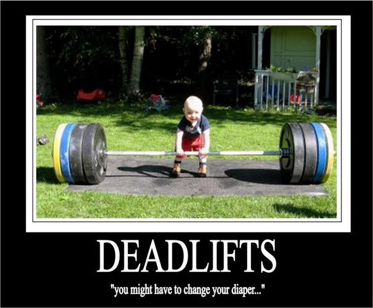 Kid deadlifting pic