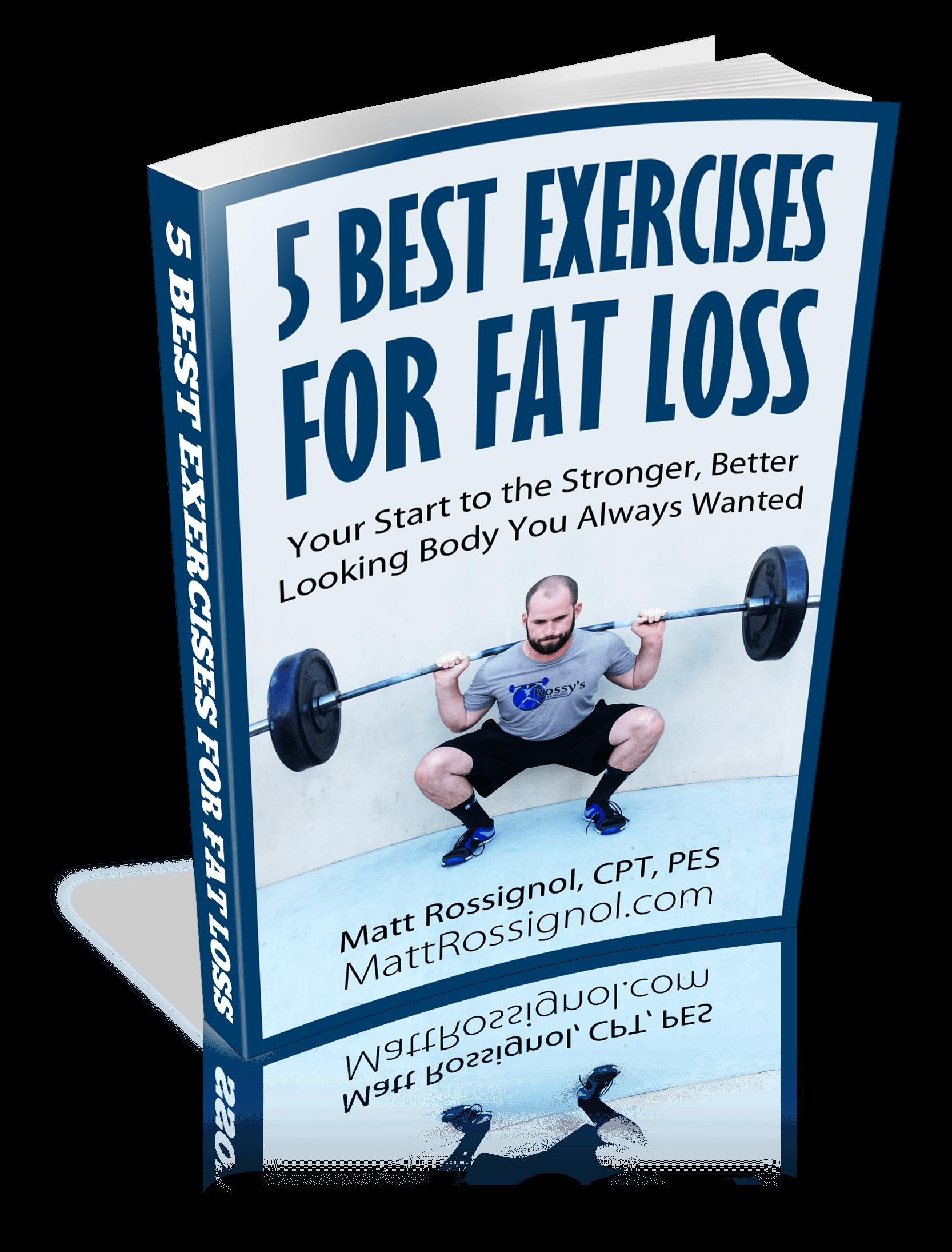 Fat Loss Ebook Cover 3d
