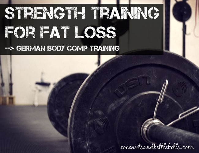 strength training fat loss pic