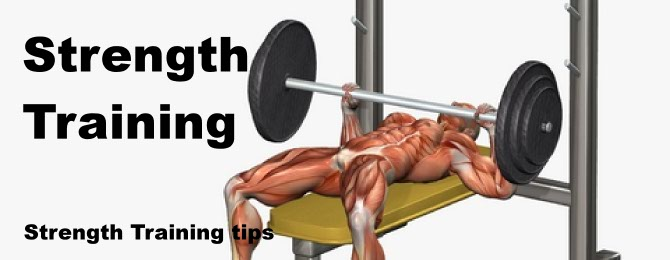 Strength training tips pic