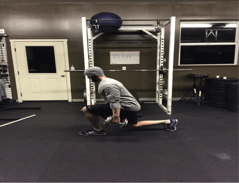 standing lunge pic
